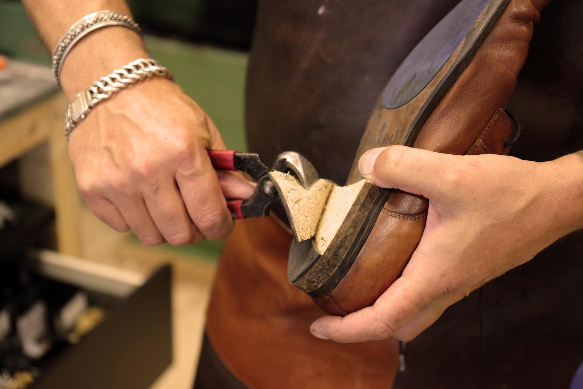 koen maakt je schoen reparatie
